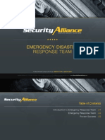 Security Alliance | Complete Security Solutions | Emergency/Disaster Response Team Presentation