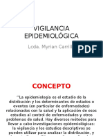 VIGILANCIA EPIDEMIOLÓGICA(1)
