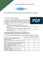 Examen Spagnolo 5 AFM