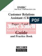 Safalta.com - DMRC Customer Relations Assistant (CRA) Guide English