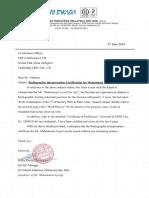 RI Certification - Work Experience Verification (Muhammad Asyraf)