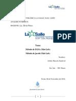 Metodo de EGSA-JACOBI Laboratorio....