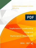 FINAL 2016 2017 SLP Handbook