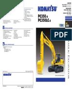 Komatsu PC350LC-8 Manual