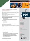 Restriction Orifice Plate Topside