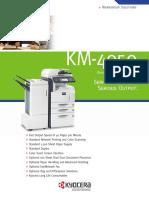 Manual Book Kyocera KM-4050
