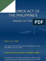 Consumer Act (Ccs June 2010)[1]