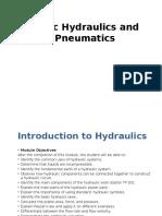Basic Hydraulics and Pneumatics Module 1