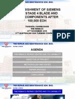 Presentation -Refurbishment of Tula and Tule 4 for Australia GT Conferance