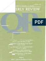 Spring 1988 Quarterly Review - Theological Resources for Ministry
