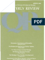 Spring 1989 Quarterly Review - Theological Resources for Ministry