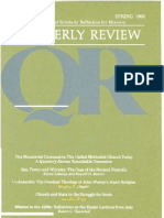 Spring 1990 Quarterly Review - Theological Resources for Ministry