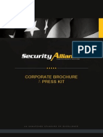 Security Alliance | Complete Security Solutions | Corporate Brochure