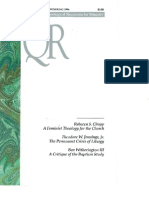 Spring 1996 Quarterly Review - Theological Resources for Ministry