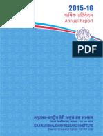 NDRI Annual Report 2015 16