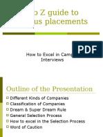 Campus Preperation