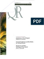 Spring 2000 Quarterly Review - Theological Resources for Ministry