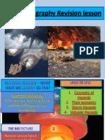 revision lesson  plate tectonics