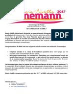 Communiqué de presse de Marie-Noëlle Lienemann du lundi 28 novembre 2016