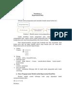 Modul 1 Representasi Data