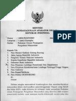 Surat Edaran Menteri Pendayagunaan Aparatur Negara No. 148 Tahun 2003 Tentang Pedoman Umum Penanganan Pengaduan Masyarakat