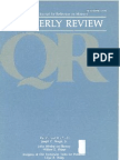 Summer 1981 Quarterly Review - Theological Resources for Ministry