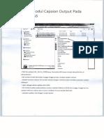 Manual Modul Capaian Output Pada Aplikasi SAS