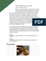 Cuál Es La Diferencia Entre Viscosidad Dinámica y Cinemática Trabajo de Mecanica de Fluidos II
