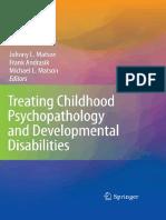 Decija Psihopatologija i Razvojni Poremecaji