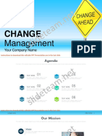 Change Management in Businesses PowerPoint Presentation Slides