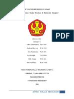 laporan metode skalogram