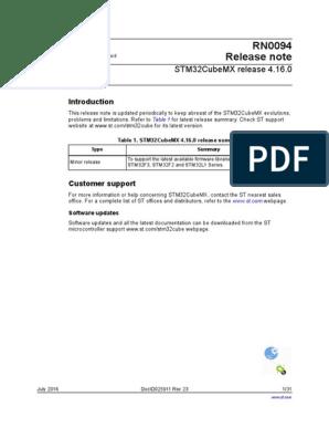 en DM00107607 pdf | 64 Bit Computing | Operating System