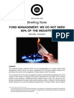 Fund Management We Do Not Need 80% of the Industry