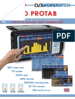 """HD PROTAB"" Professional Broadcast HD Analyzer"