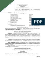 Resolution 2015 146 Sanitation Code Iloilo