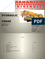 hydrauliccranes project report