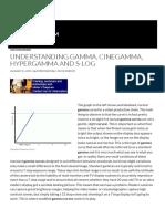 Understanding Gamma, Cinegamma, Hypergamma and S-Log _ XDCAM-USER