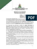 Resolução Nº 18 2015 Regime Diferenciado de Deslocamento de Docentes