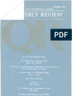 Summer 1984 Quarterly Review - Theological Resources for Ministry