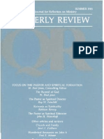 Summer 1985 Quarterly Review - Theological Resources for Ministry