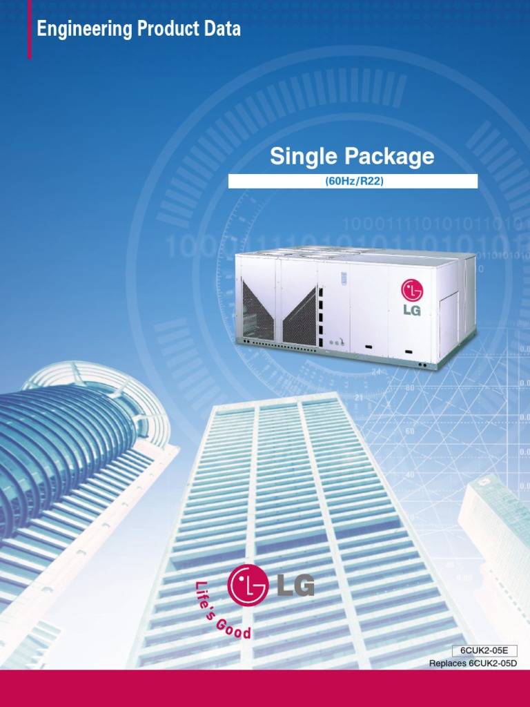 LG AC Package Type | Air Conditioning | Mains Electricity