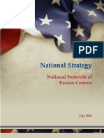 National Strategy for the National Network of Fusion Centers 2014