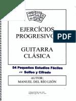 Ejercicios Progresivos Guitarra Clasica