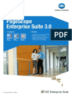 PageScope Enterprise Suite Brochure
