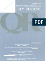 Summer 1988 Quarterly Review - Theological Resources for Ministry