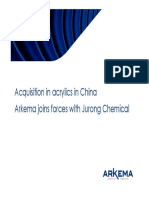 Arkema Acquisition Acrylics China Presentation