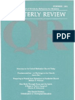 Summer 1991 Quarterly Review - Theological Resources for Ministry