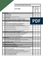 Check List Auditoria