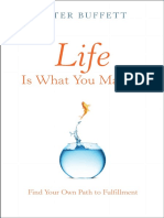 An Open Letter to Fathers by Peter Buffett, Author of Life is What You Make It