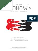 Petroleo y mujer. Revista Economía, Vol. 67, No. 106 (noviembre)